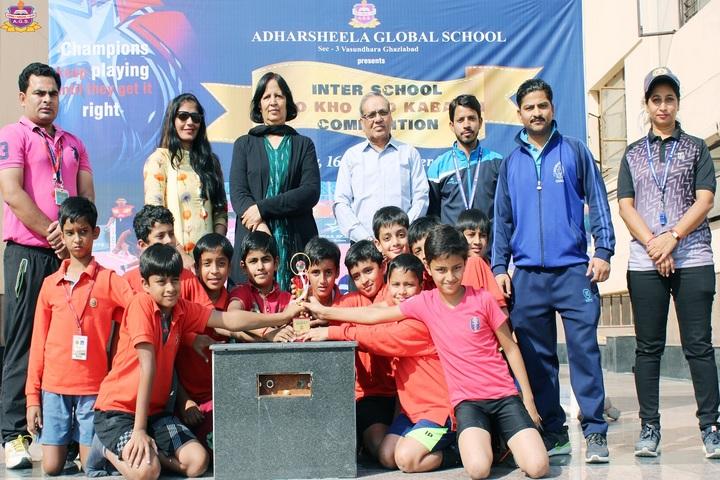Adharsheela Global School - Award Receiving