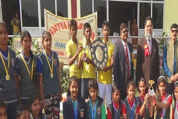 Aditya Public School - Award Receiving