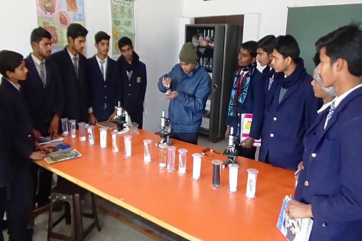 Aditya Public School - Biology Lab