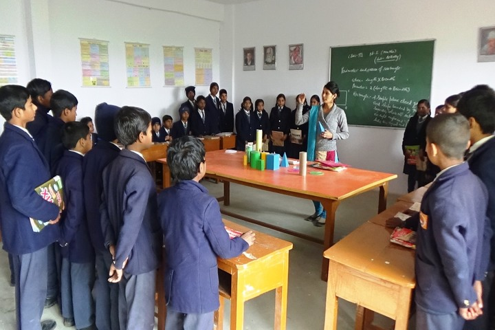 Aditya Public School - Math Lab