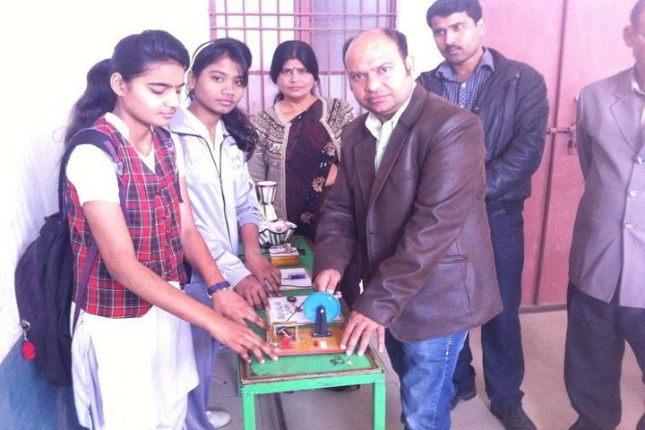 Agra Vanasthali Vidyalaya- Science Exhibhition