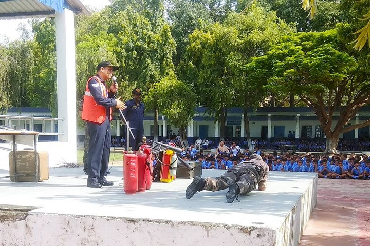 Air Force School-Fire Safety Awareness