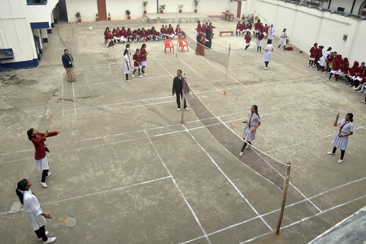 S K P Vidya Vihar-Badminton