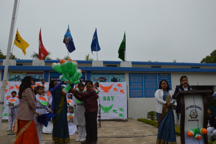 Air Force School-Republic Day Celebrations