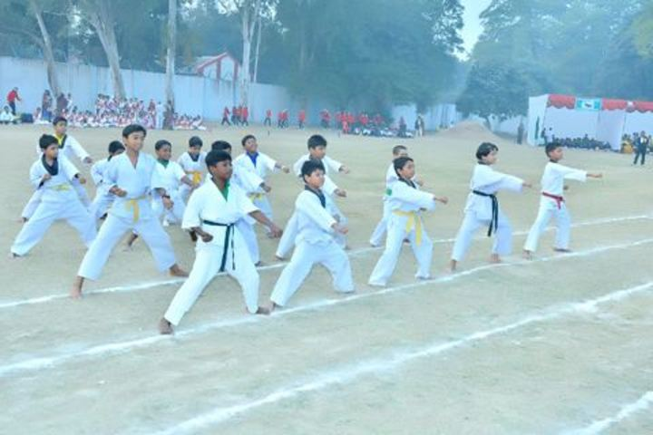 Air Force School-Karate Event
