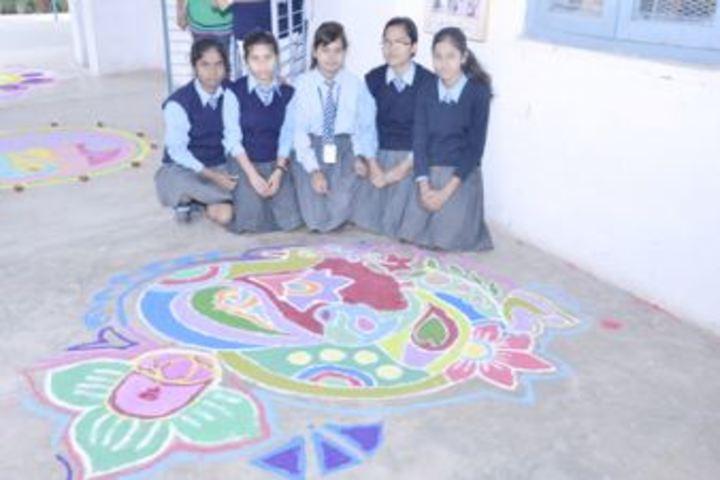 Air Force School-Rangoli Competition