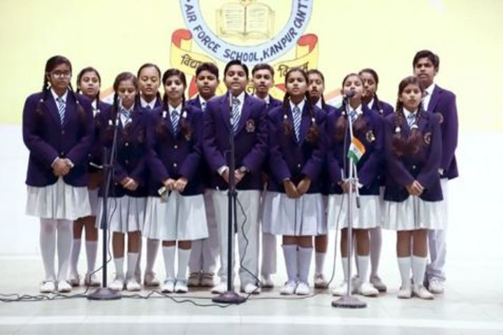 Air Force School-Singing Event