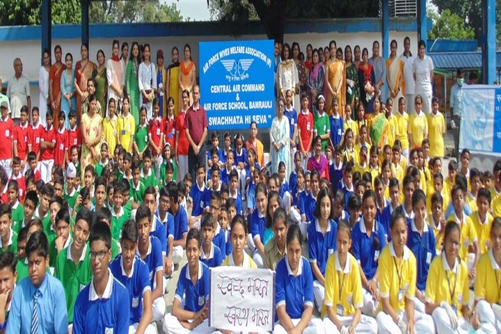 Air Force School-Swachta Pakhwada
