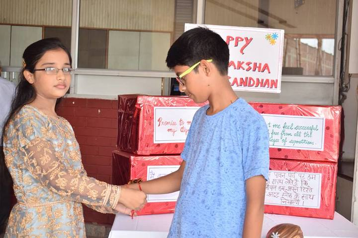 Ajmani International School - Rakhi Celebrations