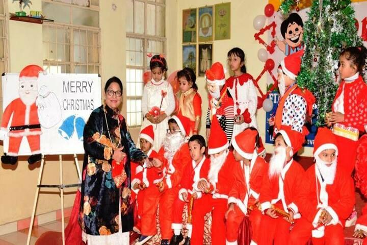 Ajmani Public School-Christmas celebrations