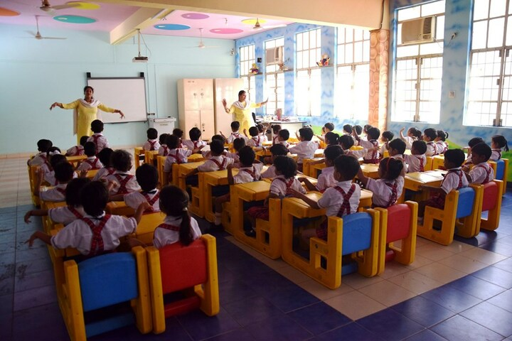 Ajmani Public School-Classroom