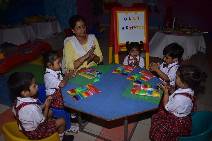 Ajmani Public School-Clay activity