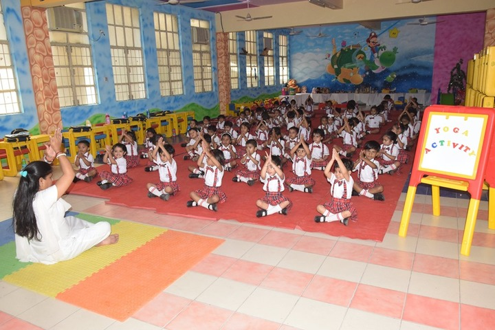 Ajmani Public School-Fitness Activity