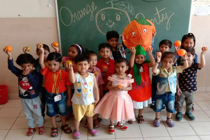 Ajmani Public School-Orange day