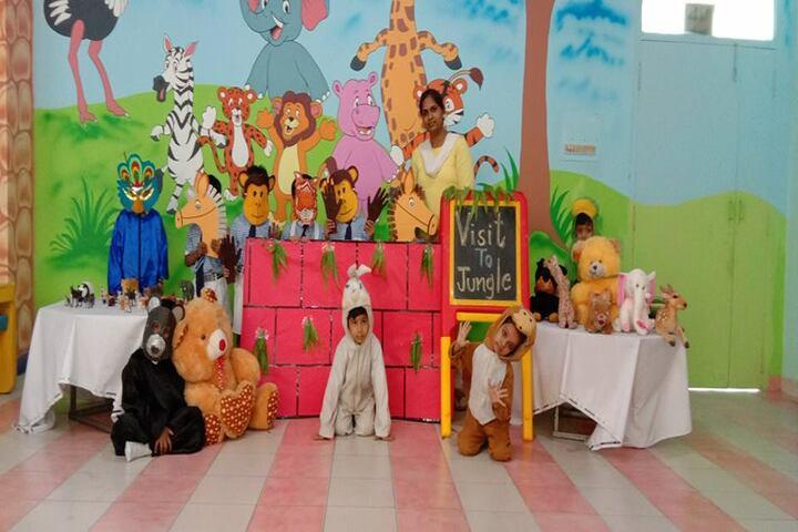 Ajmani Public School-Visit to jungle