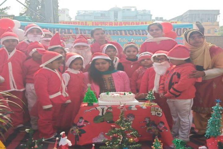 S N Memorial International School-Christmas Celebrations
