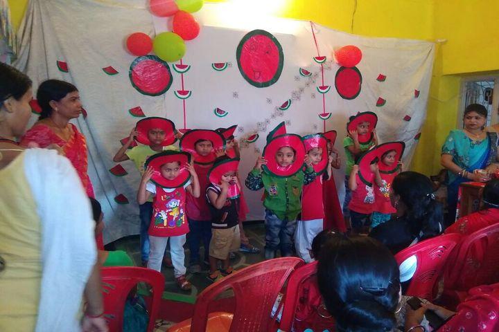 S N Memorial International School-Red Day