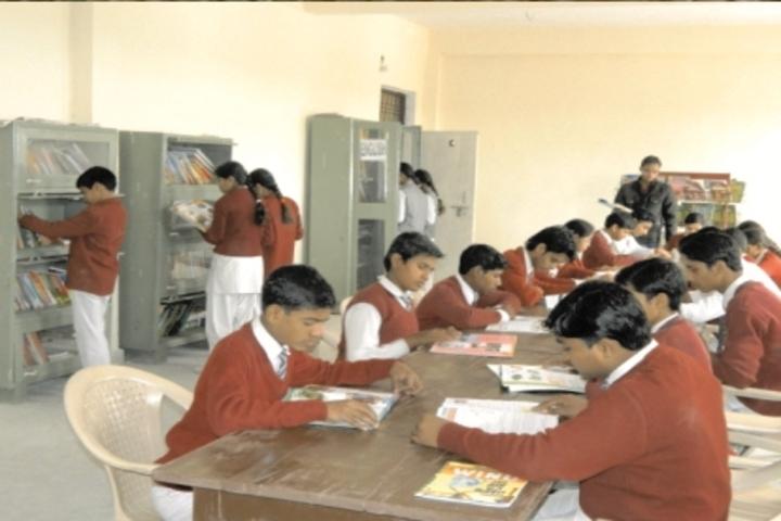 Akanksha Global Academy - Library