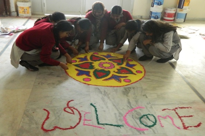Akanksha Global Academy - Rangoli Competition