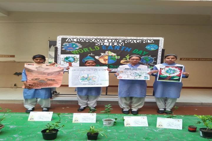 Al-Barakaat Public School - World Earth Day Celebrations