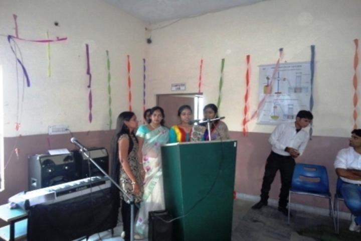 Alakananda Academic School - Singing Activity