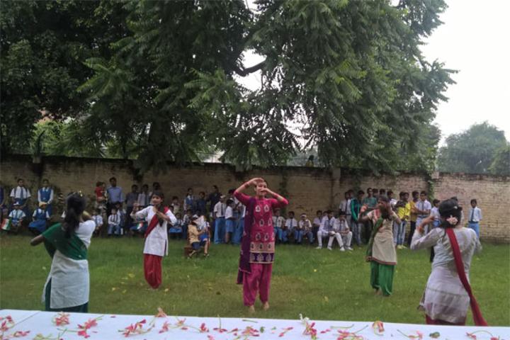 Aliganj Montessori School  - Dance
