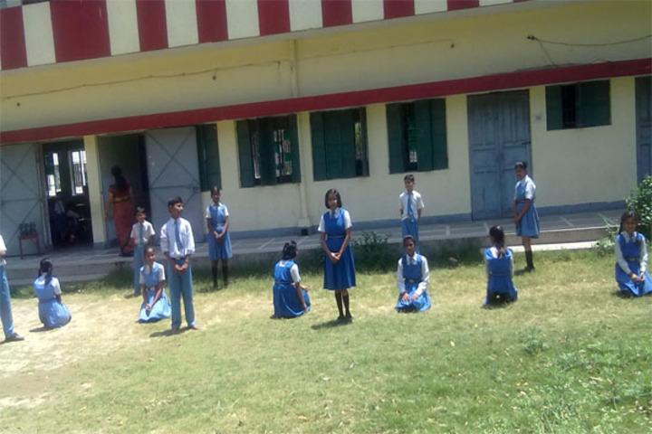 Aliganj Montessori School  - Kho Kho