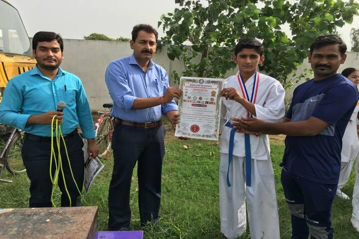Alingua Public School -  Karate Championship