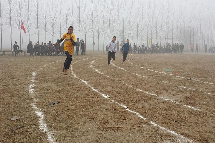 Alingua Public School - Running Competition