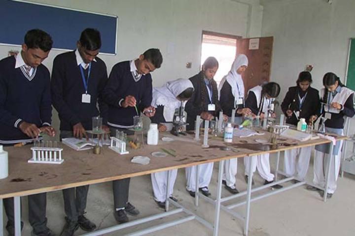 Aliyah Public School - Chemistry Lab