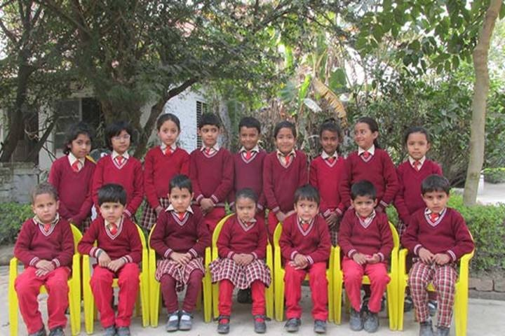 Aliyah Public School - Kg Class Picture
