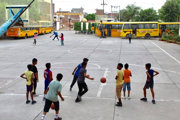 All Saints School-Basket Ball Court