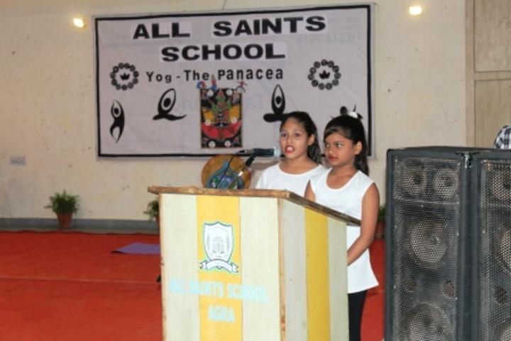 All Saints School-Event
