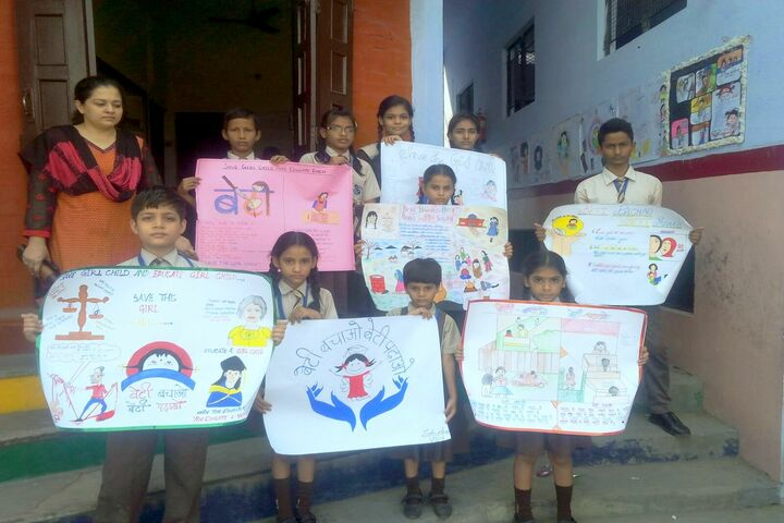 Allahabad Public School - Girl Child Education