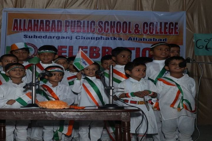 Allahabad Public School-Independence Day