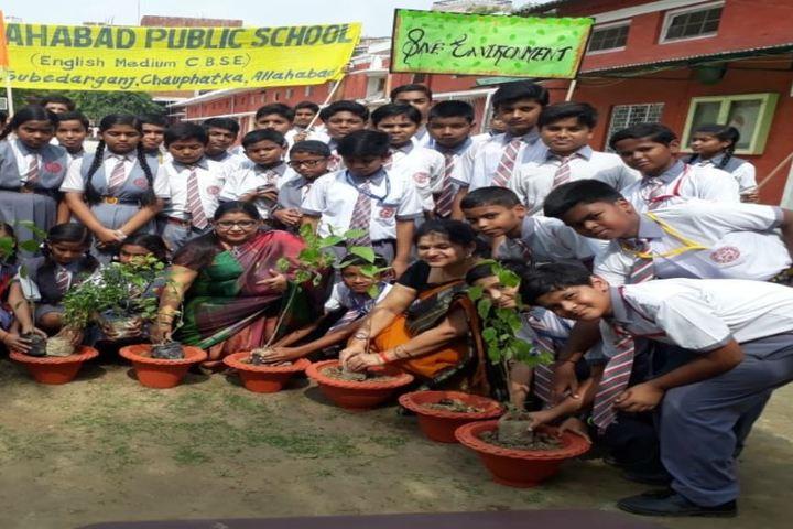 Allahabad Public School-Plantation