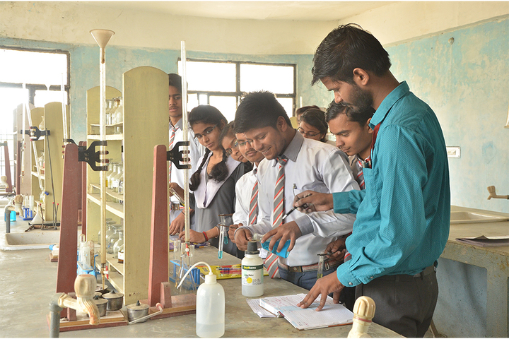 Allahabad Public School College - Chemistry Lab