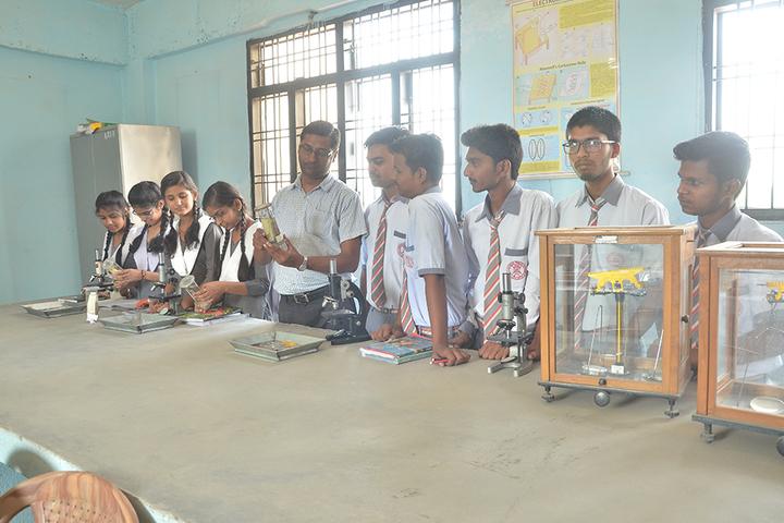 Allahabad Public School College - Physics Lab