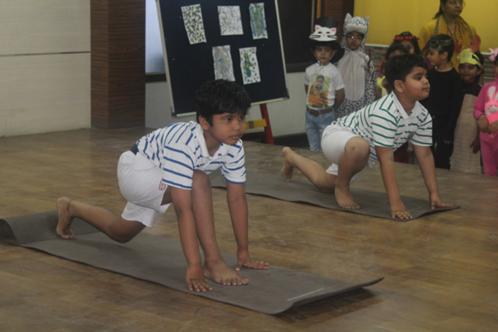 Allenhouse Public School - Yoga Activity