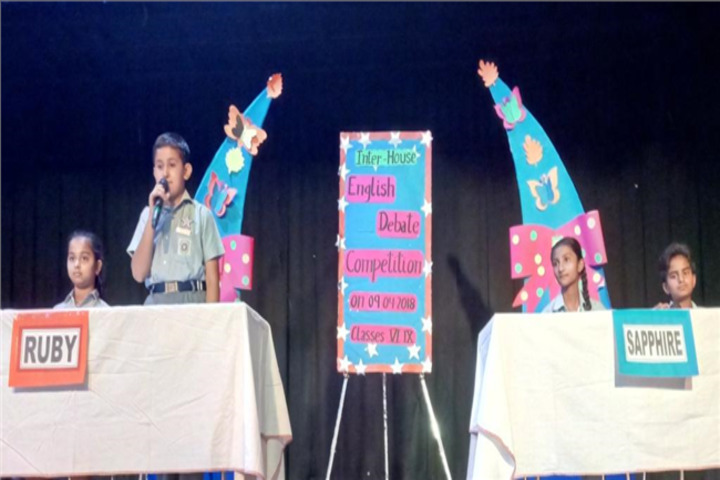 Allenhouse Public School-Debate Competition