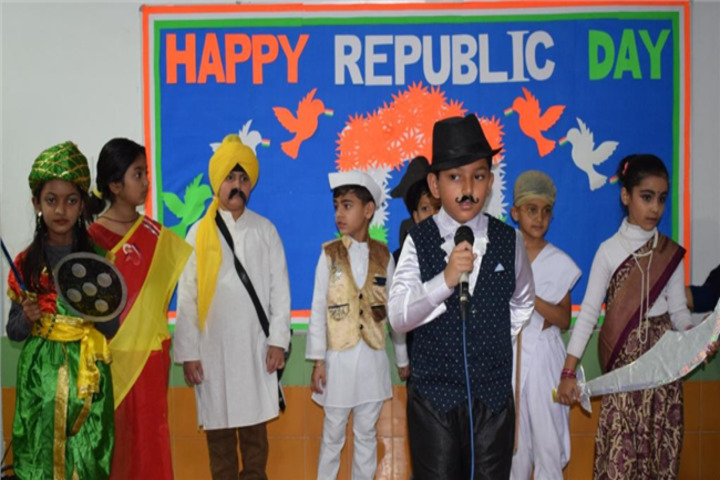 Allenhouse Public School-Republic Day Celebration