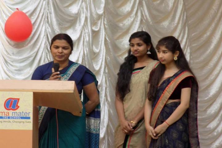 Alma Mater The School - Speech On Teachers Day