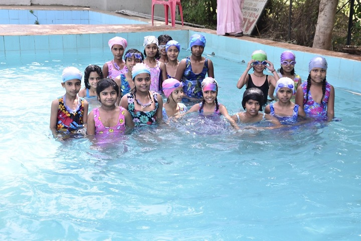 Alpha Public College-Swimming Activity