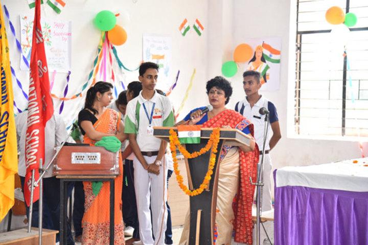 Alphine International School - Independence Day Celebrations