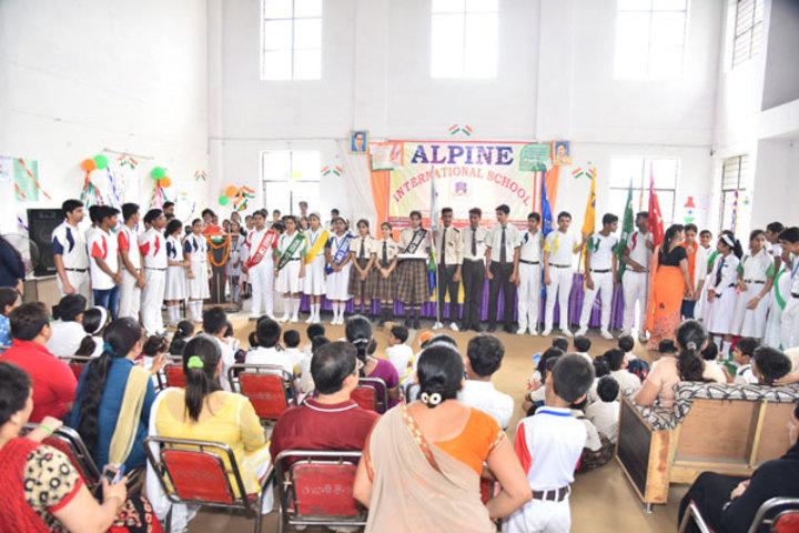 Alphine International School - Investiture Ceremony