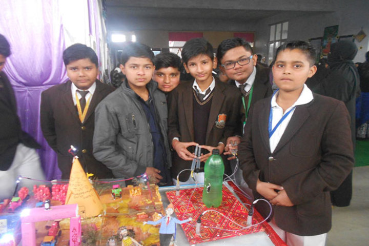 Alphine International School - Science Exhibhition