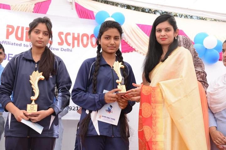 ALPINE PUBLIC SCHOOL-Award Presentation