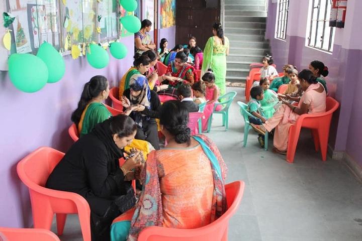 ALPINE PUBLIC SCHOOL-Mehendi Competition