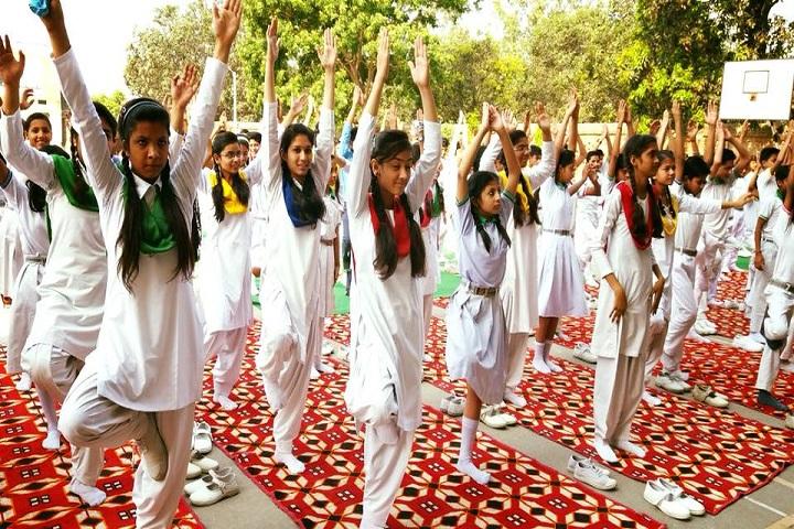 ALPINE PUBLIC SCHOOL-Yoga
