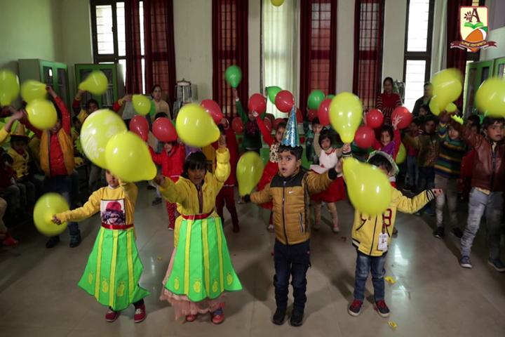 Alphine Vidyapeeth - Birthday Celebrations